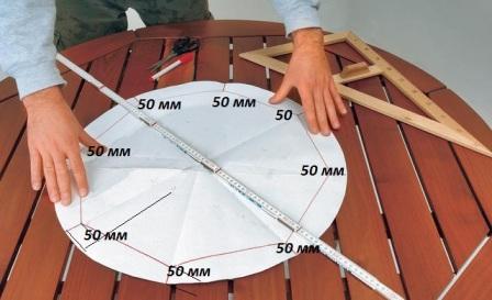 Сделать своими руками круглый стол
