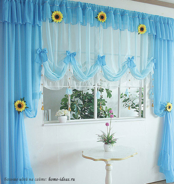 шторы на кухню, красивые шторы,как сшить шторы на кухню