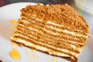торт, сметанник,торты к новому году,приготовить торт